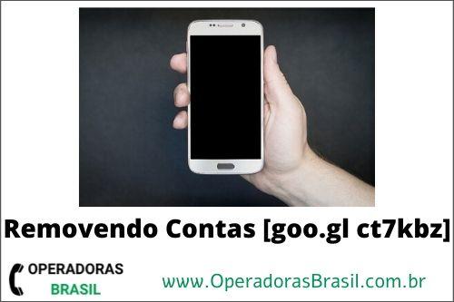 goo gl ct7kbz Removendo Contas